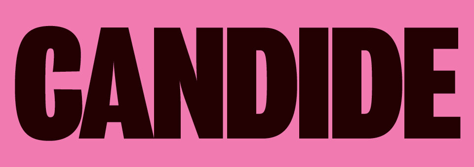 Candide Title Graphic