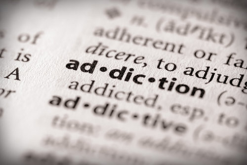 """""""addiction"""" in the dictionary"""