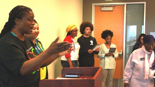 Black Student Union meeting