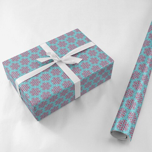Wrapping paper and gift