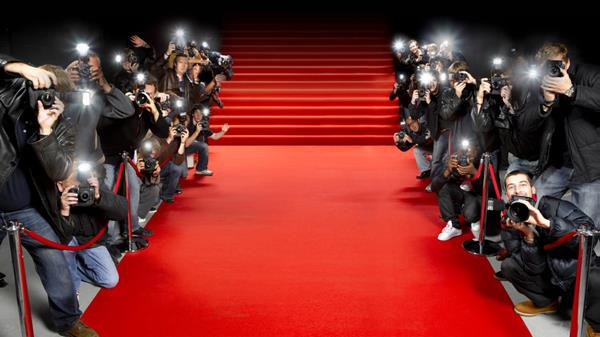 Red carpet graphic