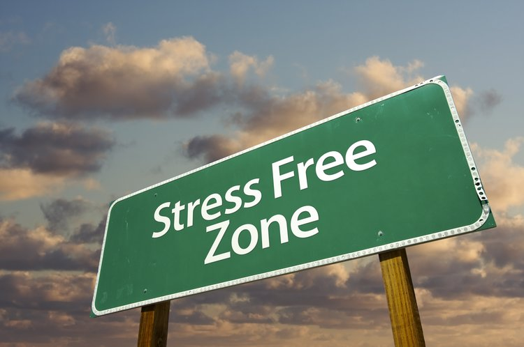 Stress Free Zone Sign