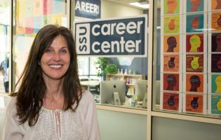 Ann Mansfield at Career Services