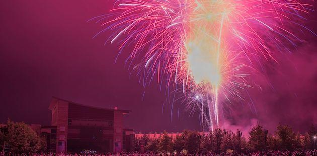 GMC fireworks