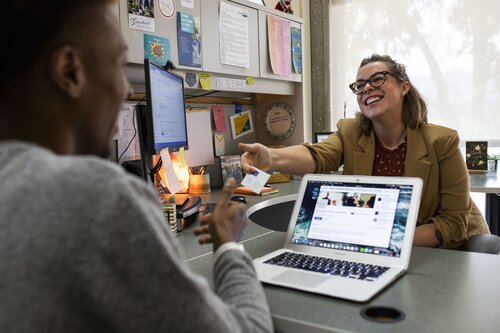 Student and career center advisor