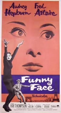 """Funny Face"" movie poster"