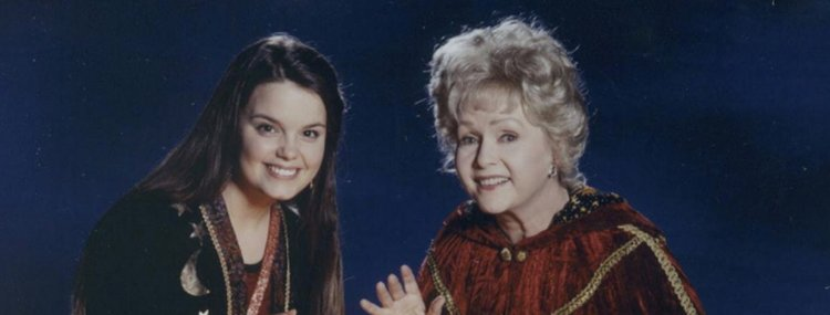 "Characters Marnie and her grandmother from ""Halloweentown"""