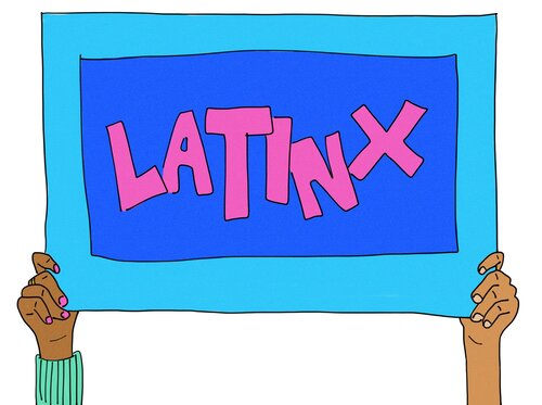 Latinx graphic
