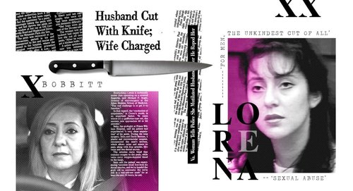 Lorena Bobbitt and newspaper article