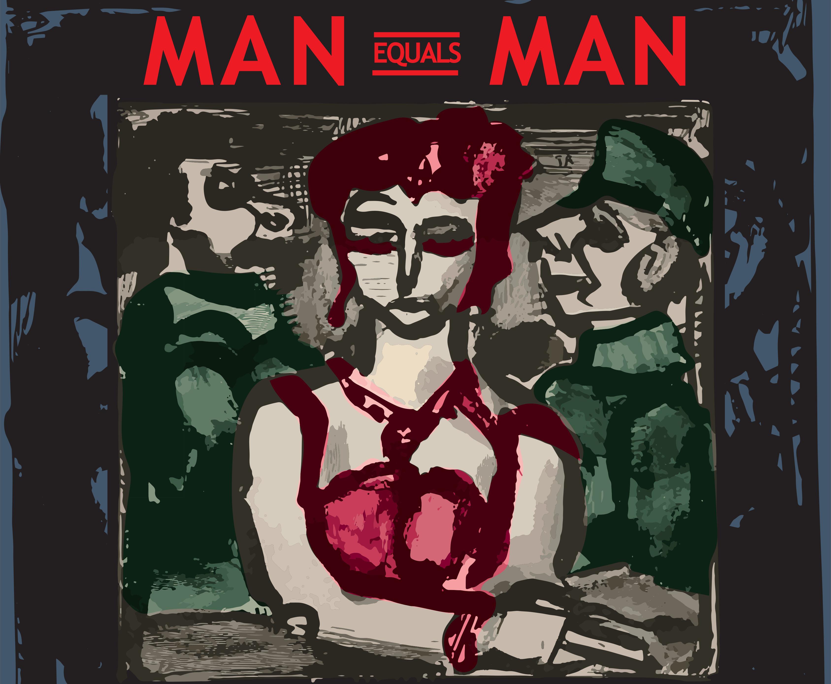 Man Equals Man Logo