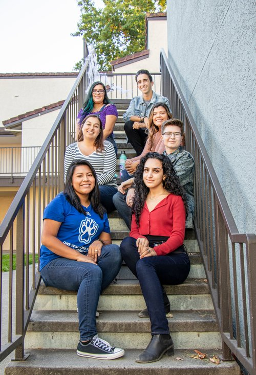Group photo of RA's