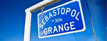 Sebastopol Grange Sign