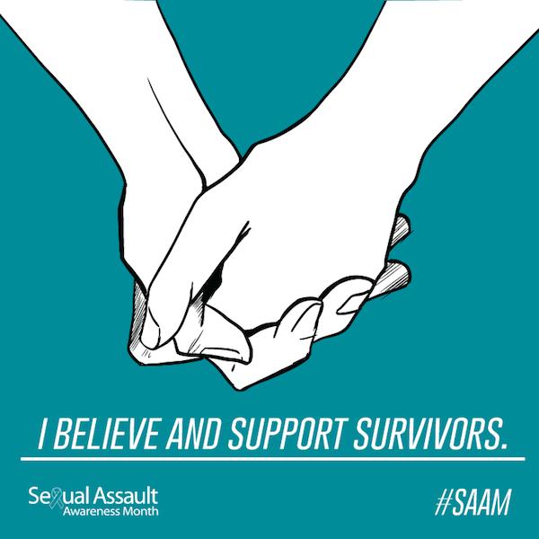 Sexual Assault Awareness Graphic