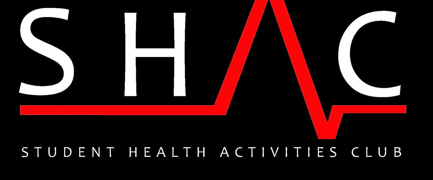Student Health Activities Club (SHAC) logo