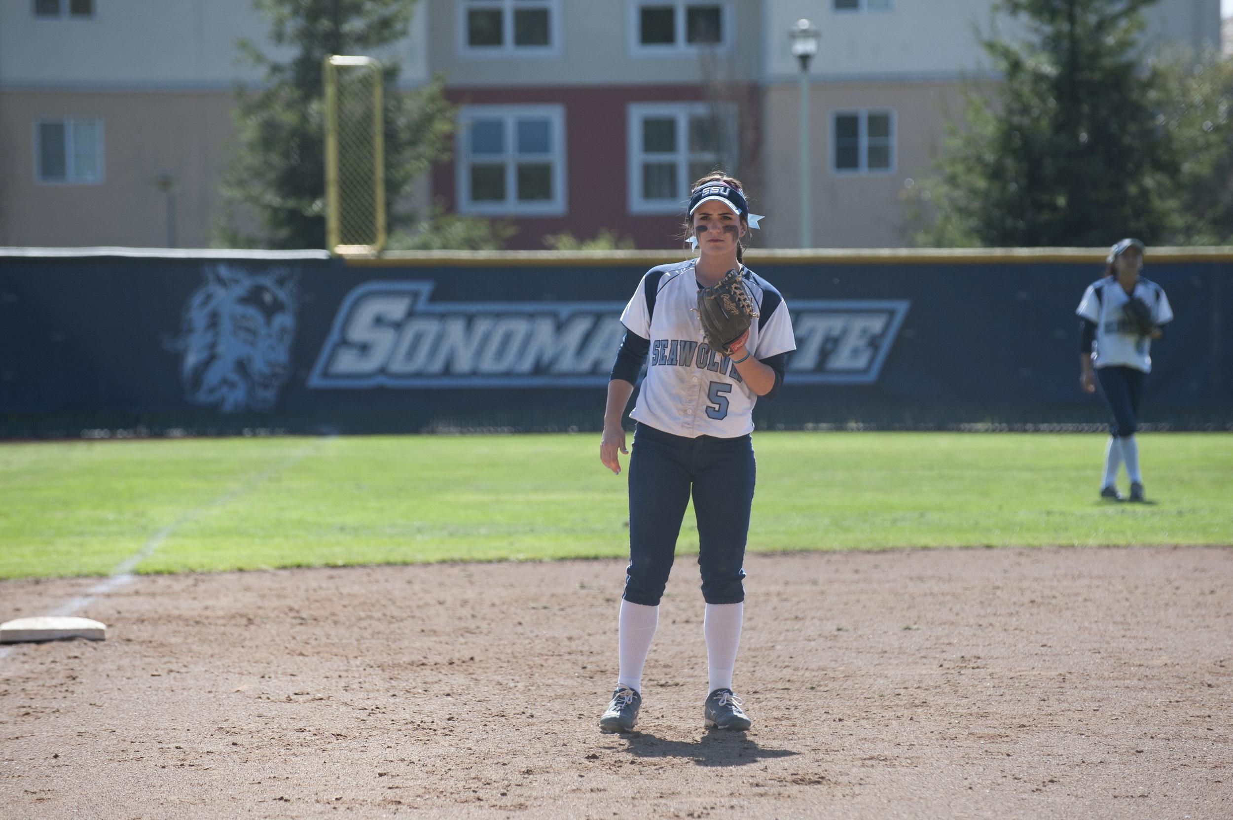 Softball 3rd baseman