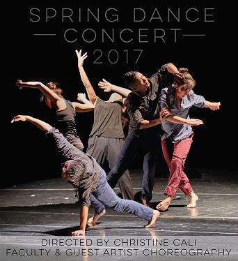 Spring Dance Concert flyer