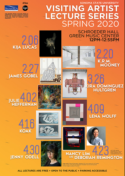 2020 Visiting Artist Series Lecture Poster