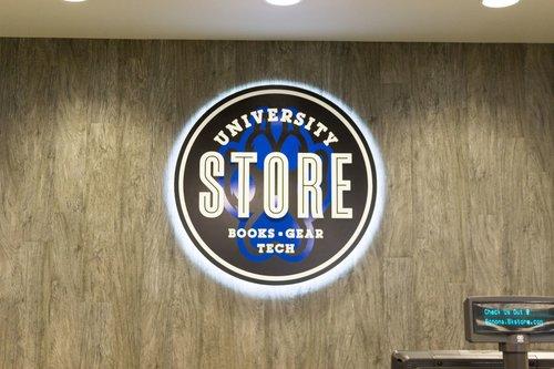 SSU University Store sign