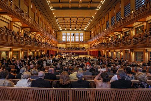 Weill Hall, Green Music Center