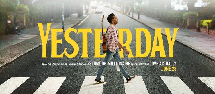 """Yesterday"" movie poster"