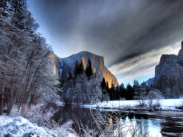 Yosemite Snow Camping