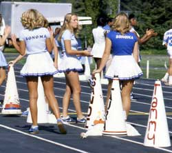 Cheerleaders, 1980s
