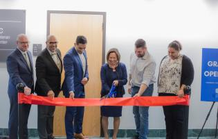 Military and Veteran Resource Center opening