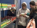 Students at Lobo's Pantry